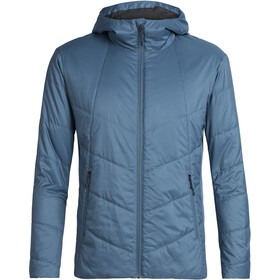 Icebreaker Helix Hooded Jacket Herre Thunder